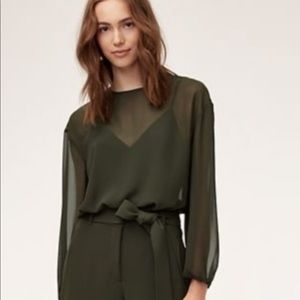 NWT Wilfred Talmont Blouse